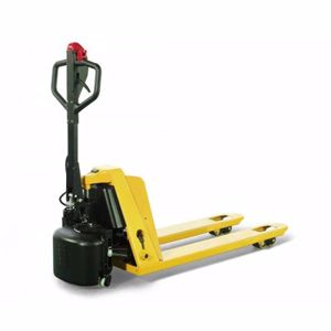 Picture of Semi Electric Powered Pallet Truck 1500kg 520mm Width