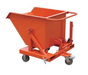 Picture of Steel Tipping Bin Trolley
