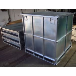 Picture of Metal Storage Box Collapsible